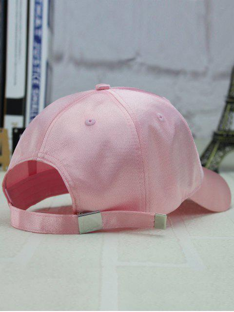 Casquette solaire ajustableail - Rose Clair  Mobile