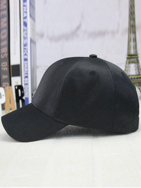 affordable Adjustable Shimmer Long Tail Outdoor Baseball Hat - BLACK  Mobile