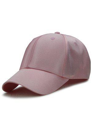 Sombrero De Béisbol Ajustable Shimmer Largo Cola Al Aire Libre - Rosa Luz