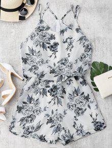 Cami De Impresión Floral - Blanco S