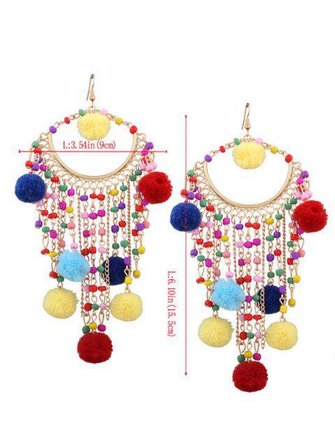 Boucles d'oreilles à perles Fingues - Multicouleur  Mobile
