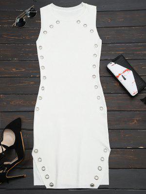 Anillo Con Diseño De Flecos - Blanco