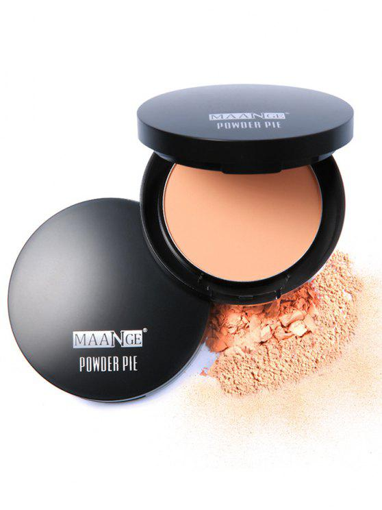 hot Round Portable Mineral Foundation Powder Box - #03