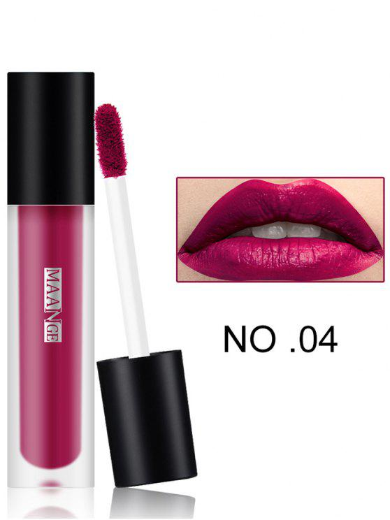 chic Long Wear Matte Moisturizing Lip Glaze - #04