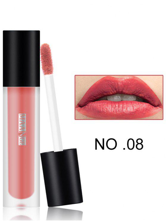 affordable Long Wear Matte Moisturizing Lip Glaze - #08
