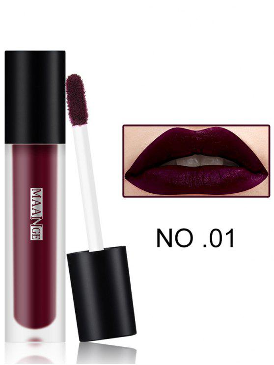 women Long Wear Matte Moisturizing Lip Glaze - #01