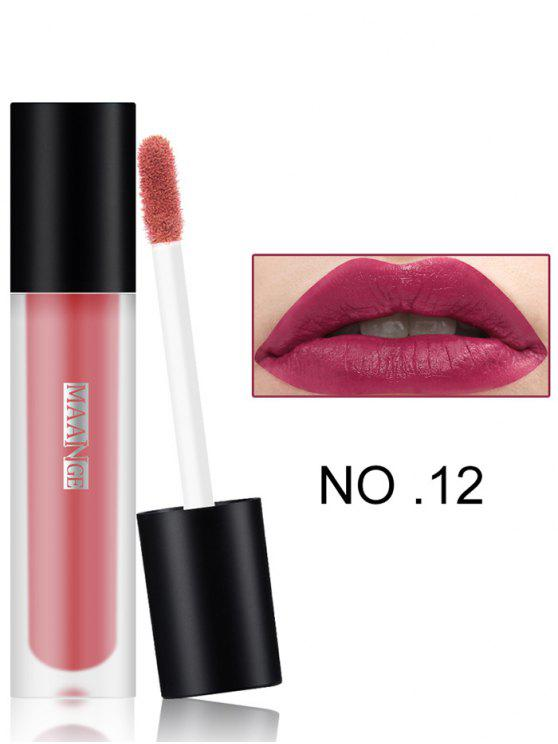 women's Long Wear Matte Moisturizing Lip Glaze - #12