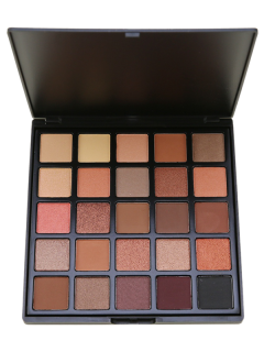 25 Colors Smoky Eyeshadow Cosmetic Palette - #01