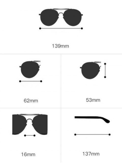 unique Butterfly Piebald Frame Spliced Sunglasses - TEA-COLORED  Mobile
