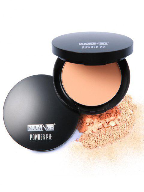 hot Round Portable Mineral Foundation Powder Box -   Mobile