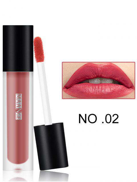 Long Wear Matte Moisturizing Lip Glaze - #02  Mobile