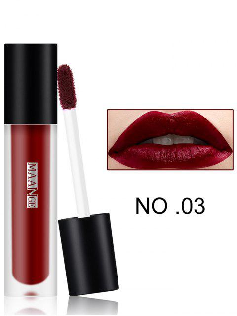 fashion Long Wear Matte Moisturizing Lip Glaze - #03  Mobile