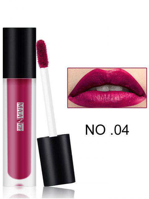 Lustre de labios hidratante mate de desgaste largo - 04 #  Mobile