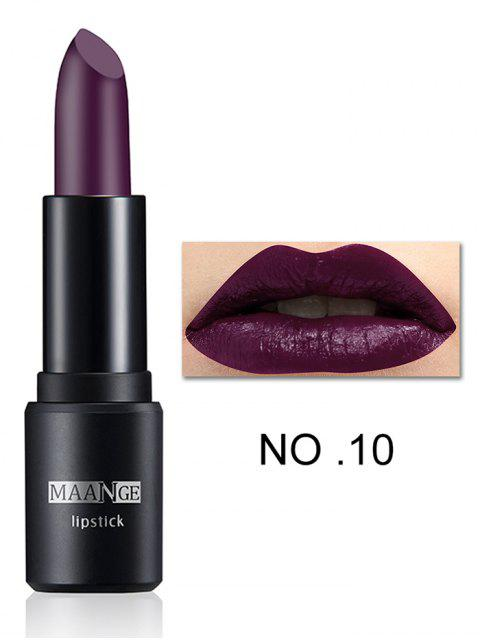 shops Long Lasting Frosted Matte Lipstick - # 10  Mobile