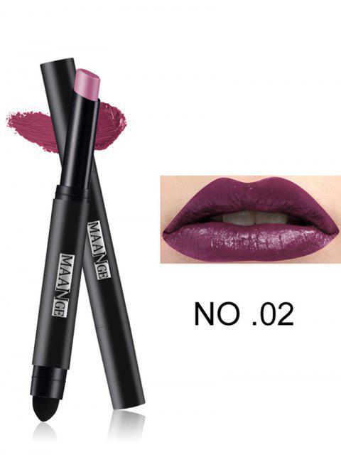 Doppelköpfige Matte Lasting Lipstick Pen -   Mobile