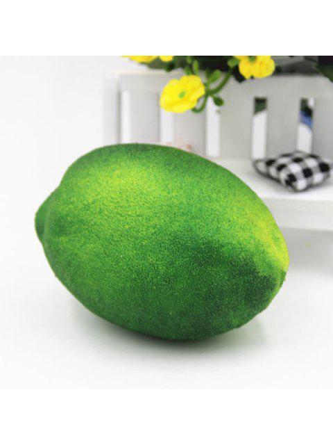 Jouet Antistress à Presser en Forme de Citron - Vert  Mobile