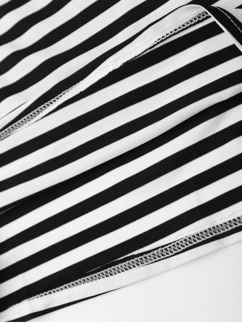 Robe à bretelle rayée avec découpes - Rayure XL Mobile