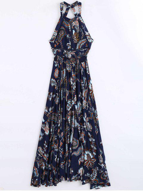 Vestido Maxi estampado con estampado floral - Floral S Mobile