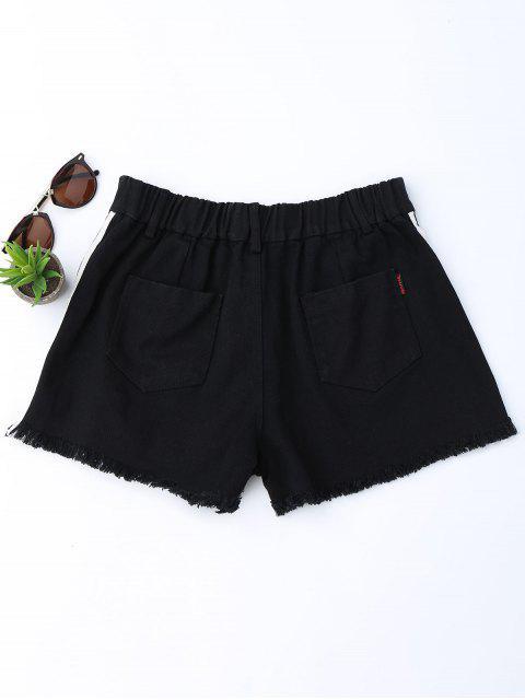 Shorts denim rayés - Noir M Mobile
