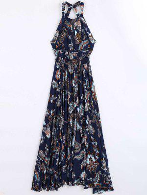 Vestido Maxi Estampado Con Estampado Floral - Floral L