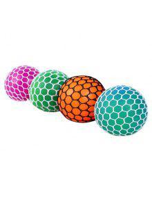 عشوائية تنفيس العنب الكرة الضغط اسفنجي لعبة - لون عشوائي 7cm