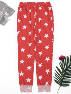 Pantalons Starwear Pentagram Starwear - Rouge S
