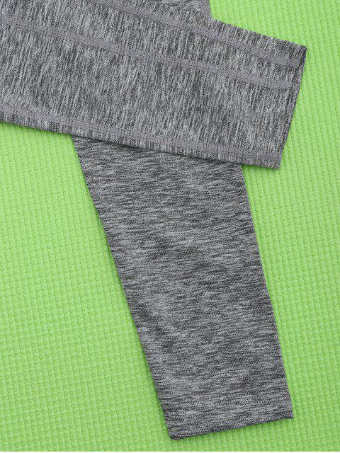 new Quick Dry Heather Running Sweat Pants - GRAY S Mobile