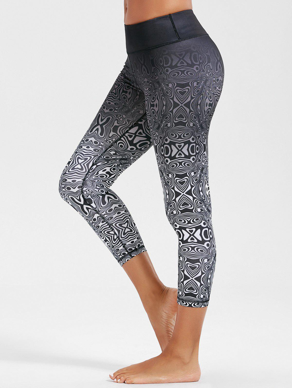 High Rise Ombre Funky Gym Leggings 214918802