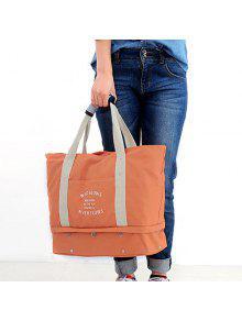 ... Graphic Print Canvas Storage Tote Bag ...