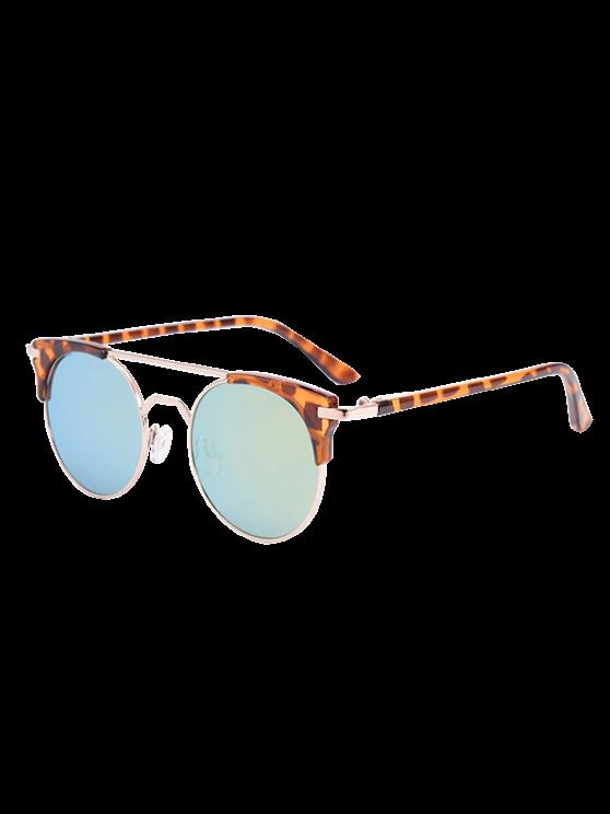 womens Anti UV Cat Eye Sunglasses with Box - AZURE