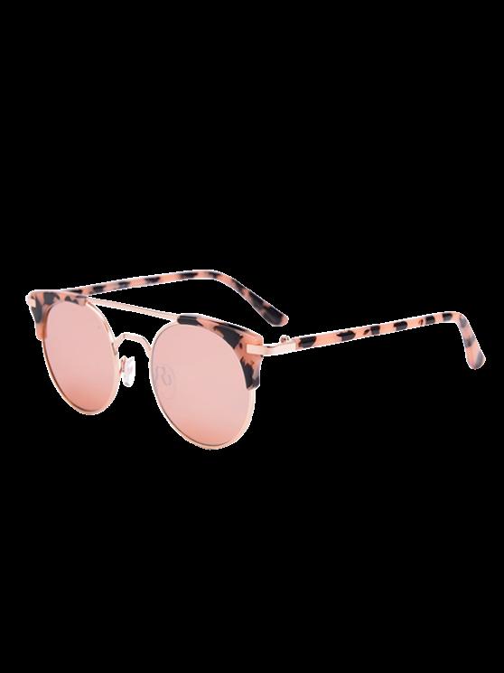Lunettes de soleil UV anti-yeux avec boîte - ROSE PÂLE