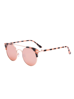 Anti UV Cat Eye Sunglasses With Box - Pink