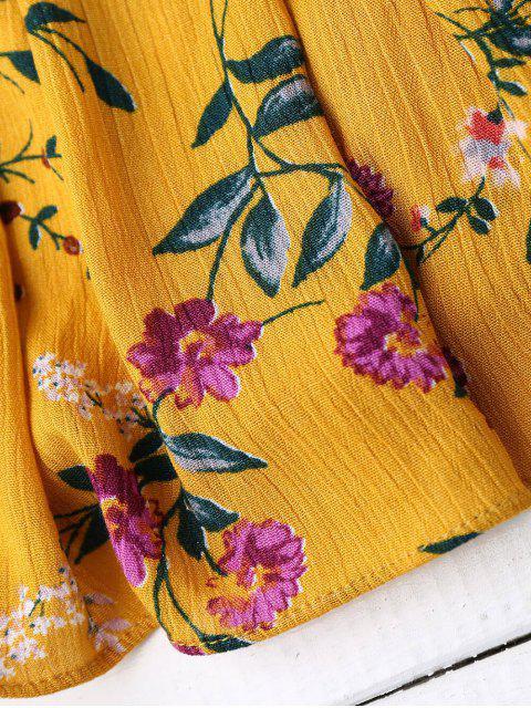 Débardeur floral Ruffles - Floral TAILLE MOYENNE Mobile