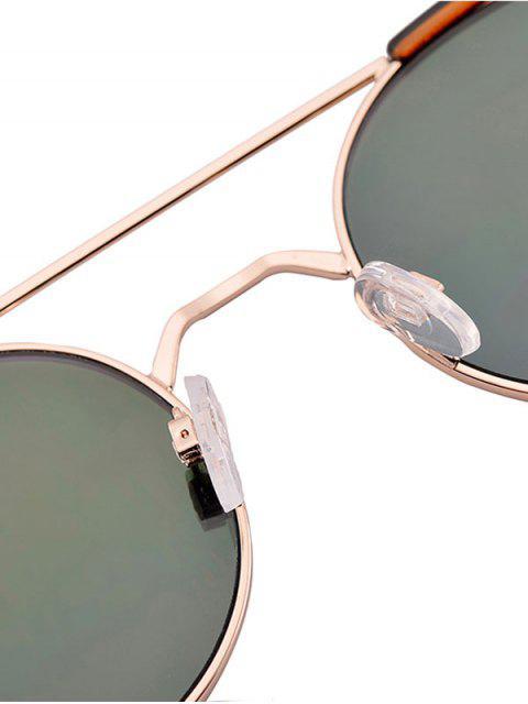 womens Anti UV Cat Eye Sunglasses with Box - AZURE  Mobile