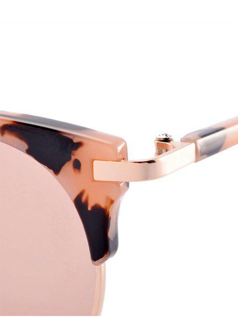 women Anti UV Cat Eye Sunglasses with Box - PINK  Mobile