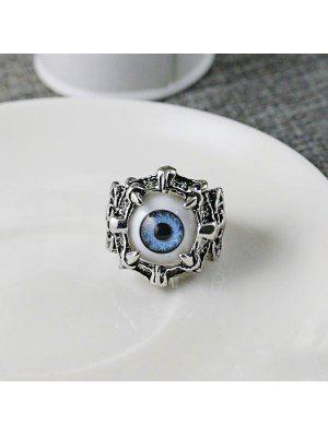 Stainless Steel Devil Eye Ring