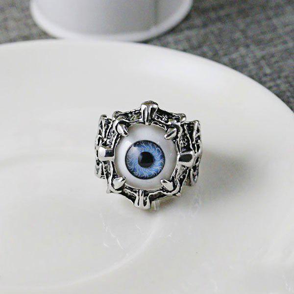 Stainless Steel Devil Eye Ring