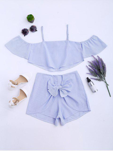 Tissu à rayures Cami et Shorts - Rayure XL Mobile