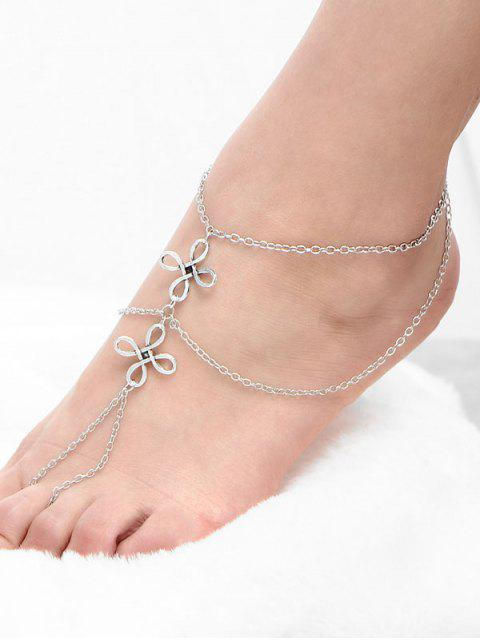 online Chinese Knot Beach Layered Slave Anklet -   Mobile