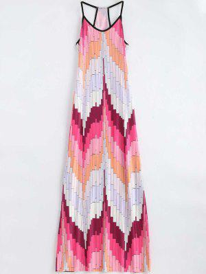Geometric Print Cami Maxi Dress - Multi Xl