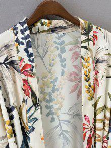 Blusa Kimono S 243;n Floral Floral Cintur PRwTq6p