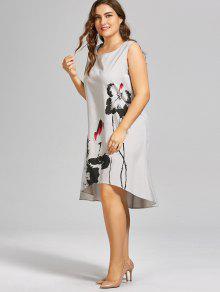 Light Grey Plus Size Dresses
