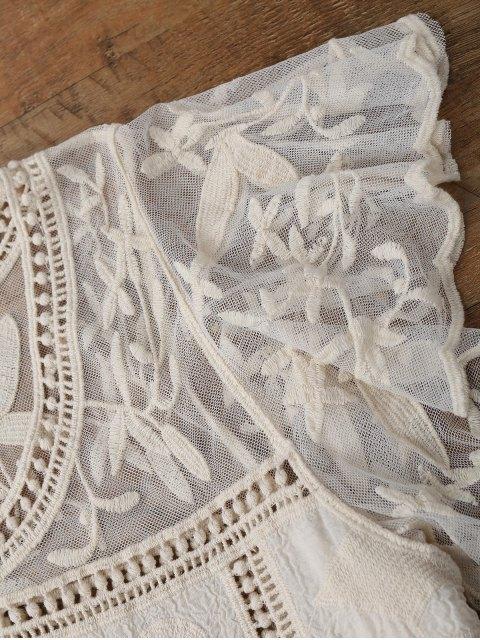 Housse de crochet à manches papillon - Blanc Cassé TAILLE MOYENNE Mobile
