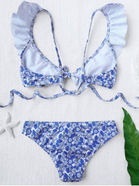 new Ruffled Tiny Floral Bikini - FLORAL 8T Mobile