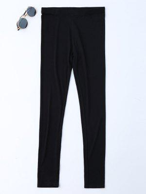 Stretchy Soft Elastic Waist Leggings