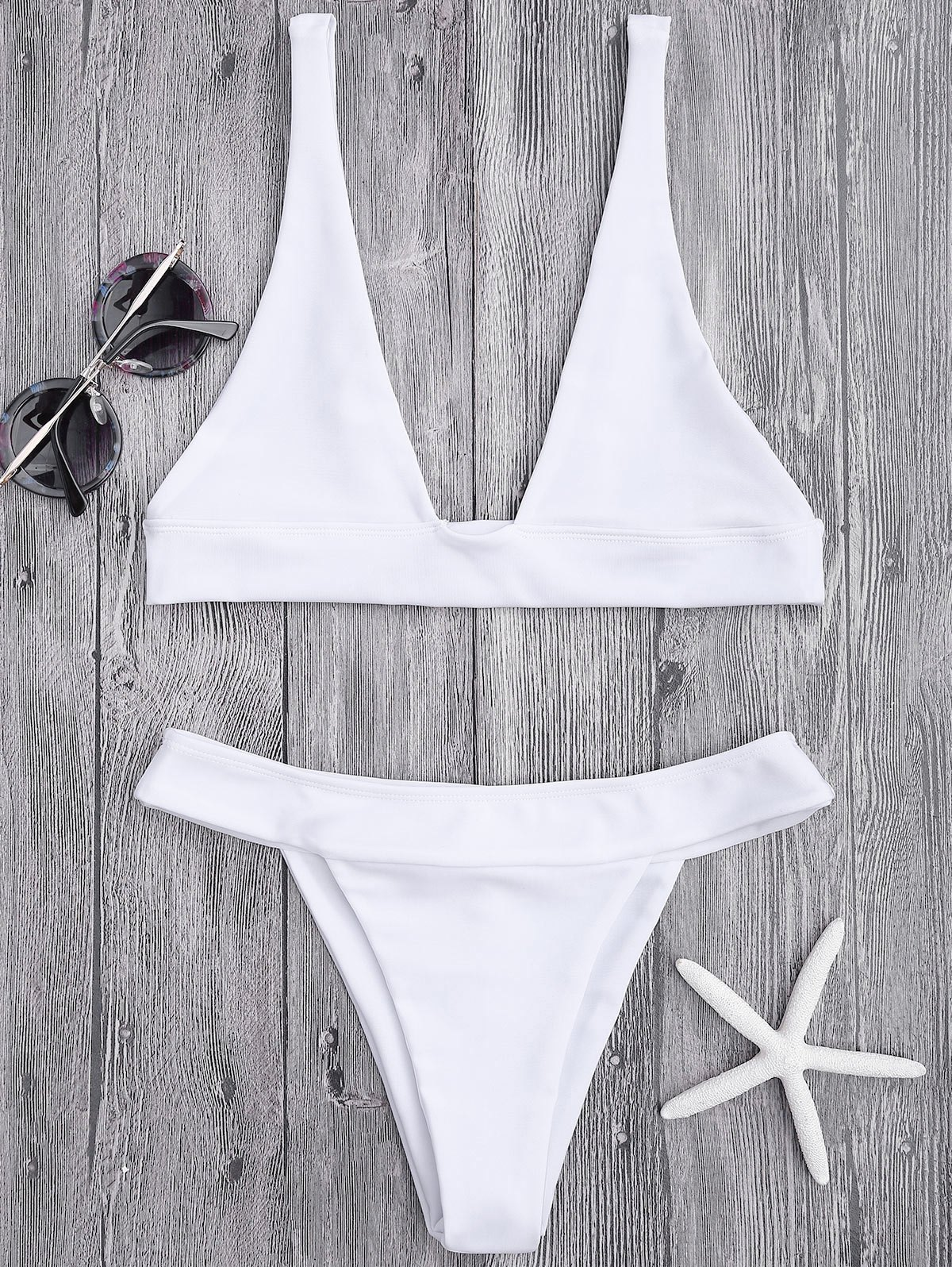Plunge Bikini Top and