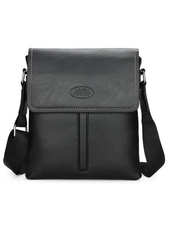 جلد فو حقيبة فروبد كروسبودي - أسود