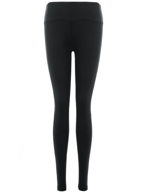 outfit Stretchy Active Leggings - BLACK L Mobile