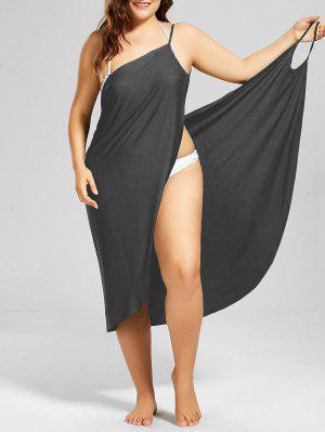 Übergröße Verdeckung  Gewicktes Kleid am Strand