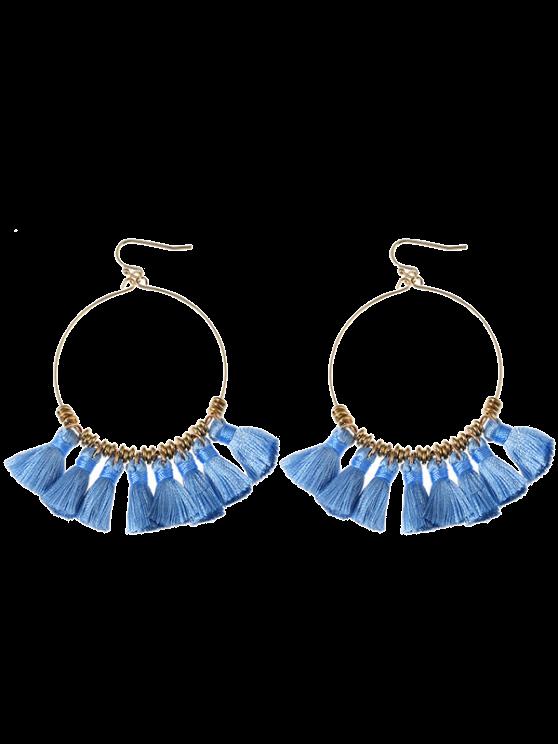 Boucles d'oreilles en gomme - Bleu